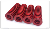 Domestic red mold spring rectangular flat wire spring hardware fittings load outer diameter 30 inner diameter 15-16.5