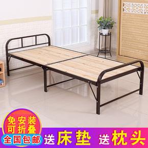 欧式现代简约铁艺床1.2米单人儿童公主铁架子床双人成人1.8 1.5米