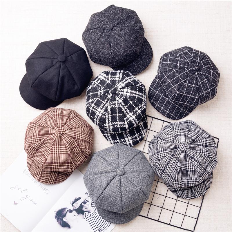 韩版八角帽