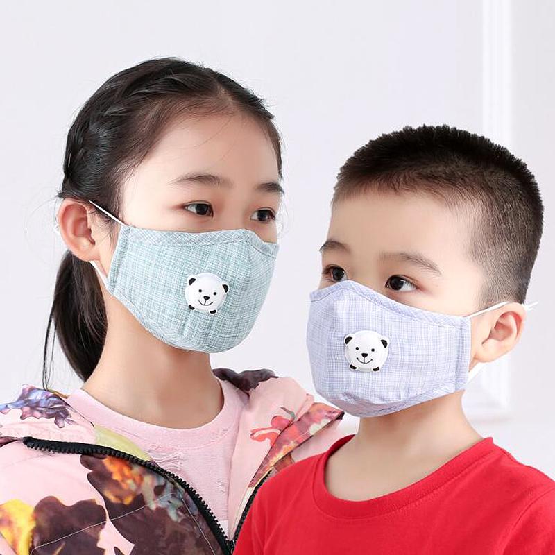 儿童宝宝防雾霾KN95防尘口罩 男女小孩学生透气pm2.5带滤片春秋款