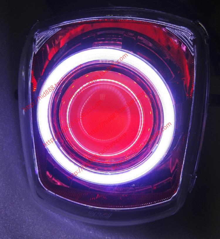 林海酷奇CUXI100 氙气灯 双光透镜总成澳门明升网址大灯总成 天使眼恶魔眼
