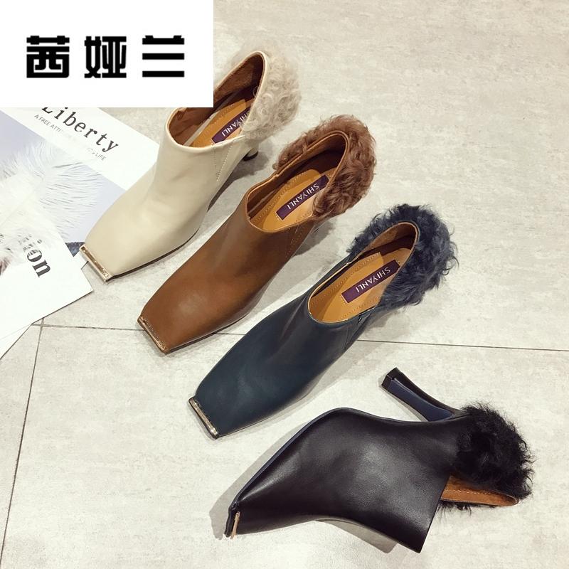 欧版复古单鞋