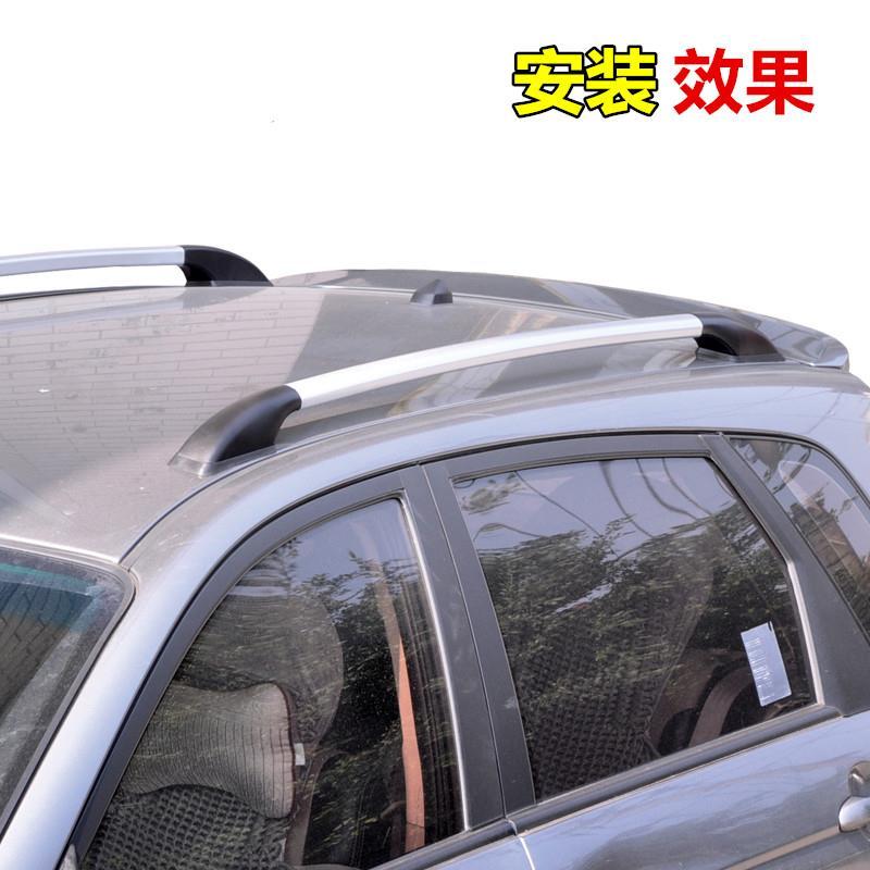 黄海N2皮卡行李架免打孔N3汽车车顶架铝合金旅行架改装配件皮卡车