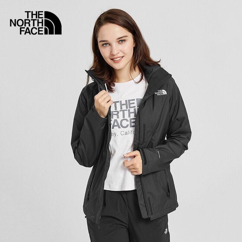 TheNorthFace北面2019秋冬新品冲锋衣女户外防水透气上新|3VPR