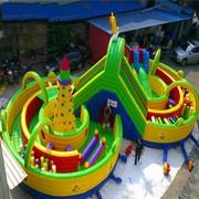 儿童乐园设备 充气城堡室外大型游乐场设备玩具淘气堡广场蹦蹦床