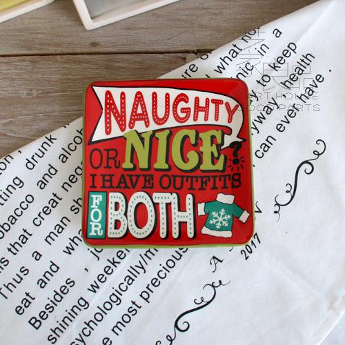 出口圣诞节日陶瓷红色小碟子派对蛋糕碟小点心碟吐骨头碟子13.5cm