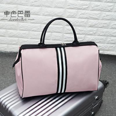 韩版短途旅行包女手提行李包大容量旅行袋轻便行李袋男可折叠旅游
