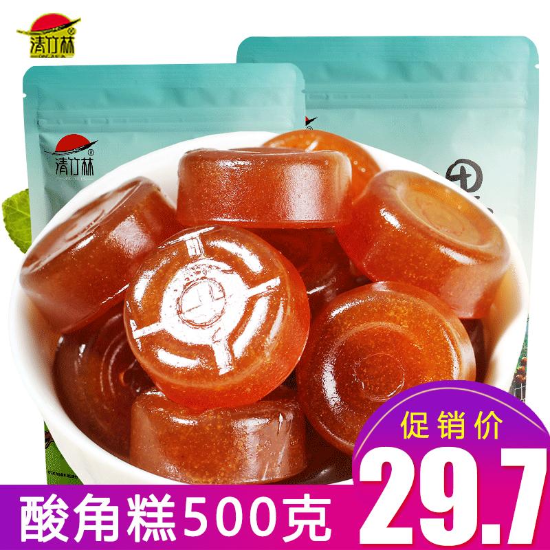 清竹林酸角糕袋装云南特产酸角甜角孕妇小孩零食酸角果糕蜜饯果脯