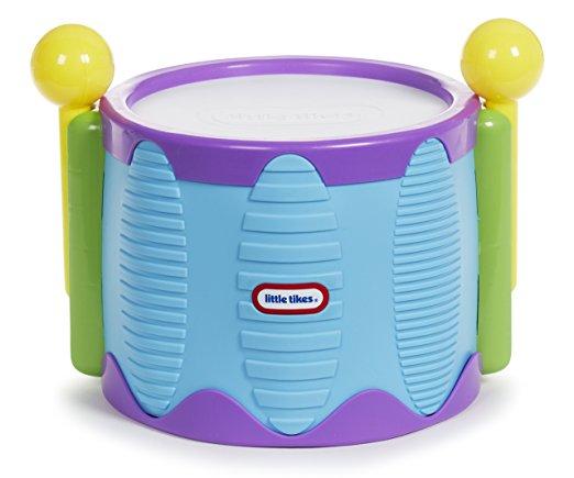 美国小泰克敲击乐鼓手拍鼓 婴儿玩具拍拍小鼓 音乐益智打击乐器