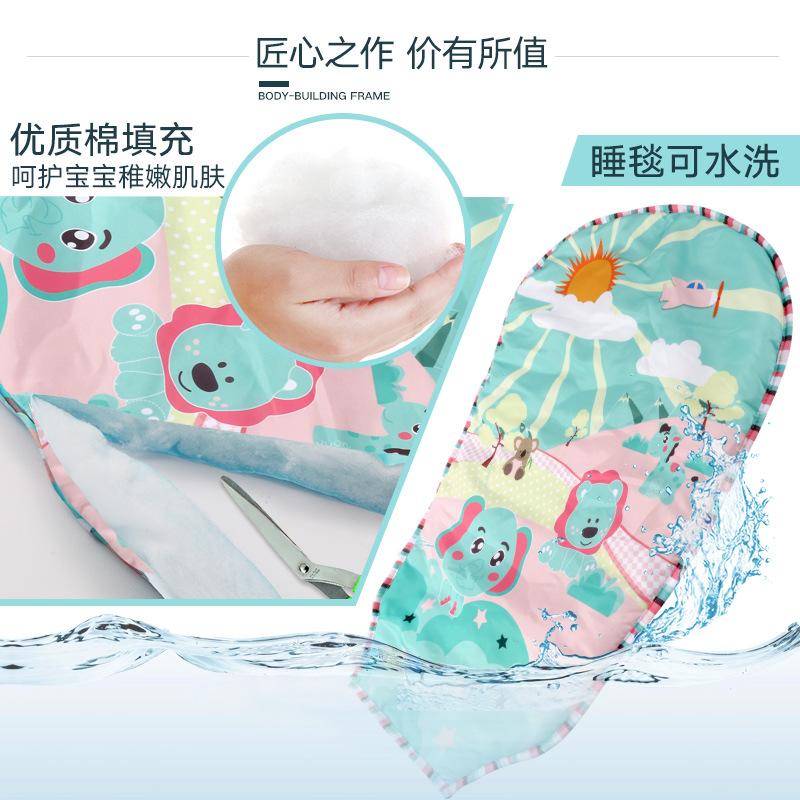婴儿玩具宝宝脚踏钢琴健身架器新生儿音乐游戏毯男女孩0-6-12个月