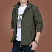 Summer thin men's jacket spring and autumn leisure jacket men's jacket middle-aged men's wear new style clothes loose in 2019