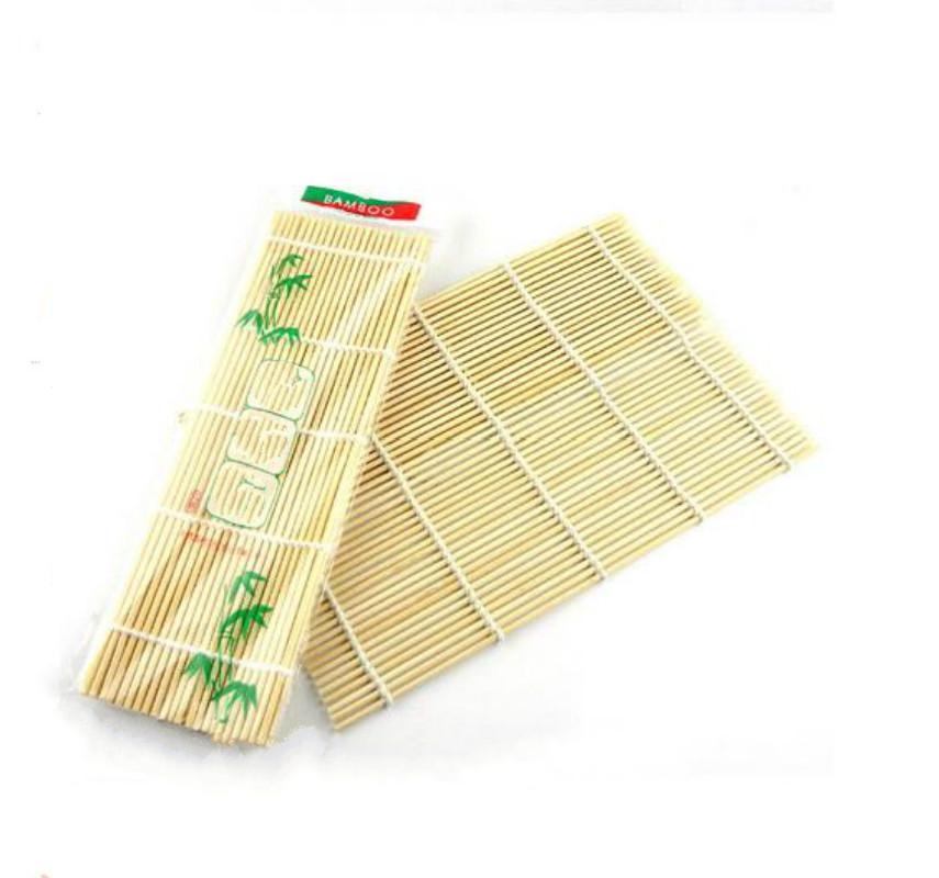 2 pcs/lot Sushi Tools Bamboo Rolling Mats Roller Material Ma