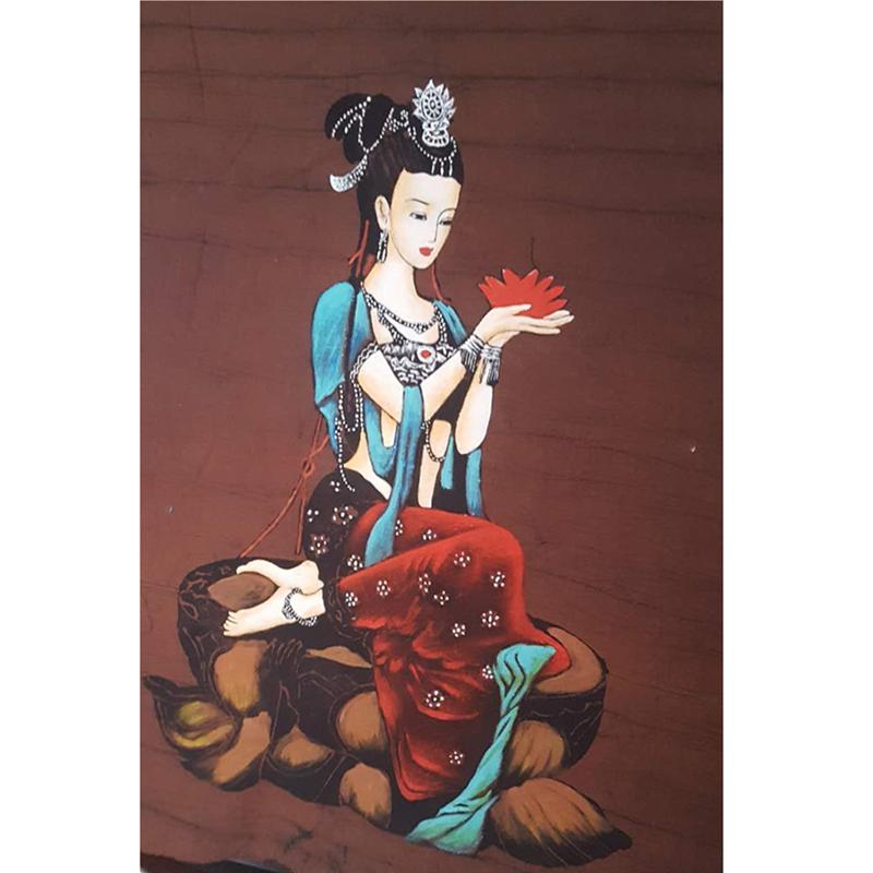 传统蓝印花布夹缬豆浆布学习工具材料成品印花版刻花版十二生肖图