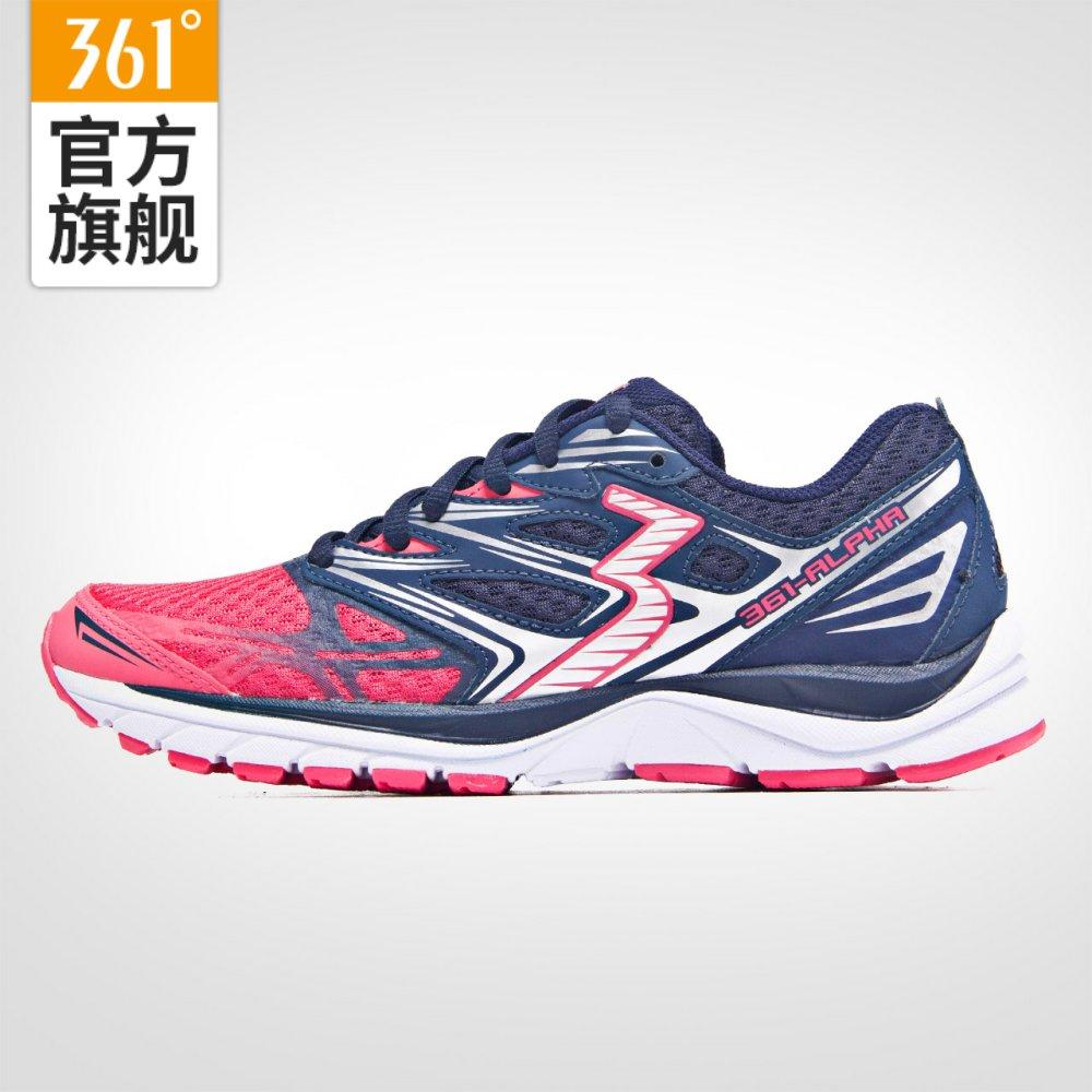 【国际线】361度减震跑鞋361-ALPHA361新款女子海外款专业跑步鞋