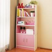 书架落地经济型创意多功能学生简易书柜卧室客厅家用省空间置物架