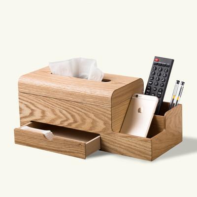 多功能纸巾盒办公桌面收纳谁买过的说说