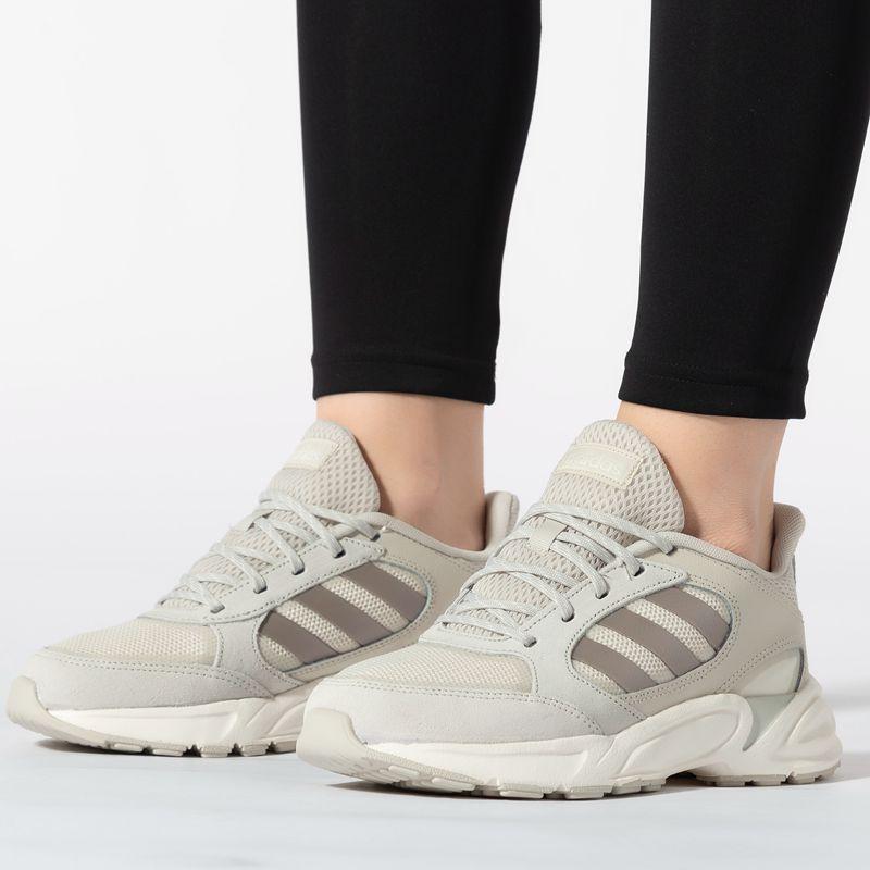 阿迪达斯三叶草女鞋2019正品休闲鞋女子复古老爹鞋跑步鞋运动鞋子