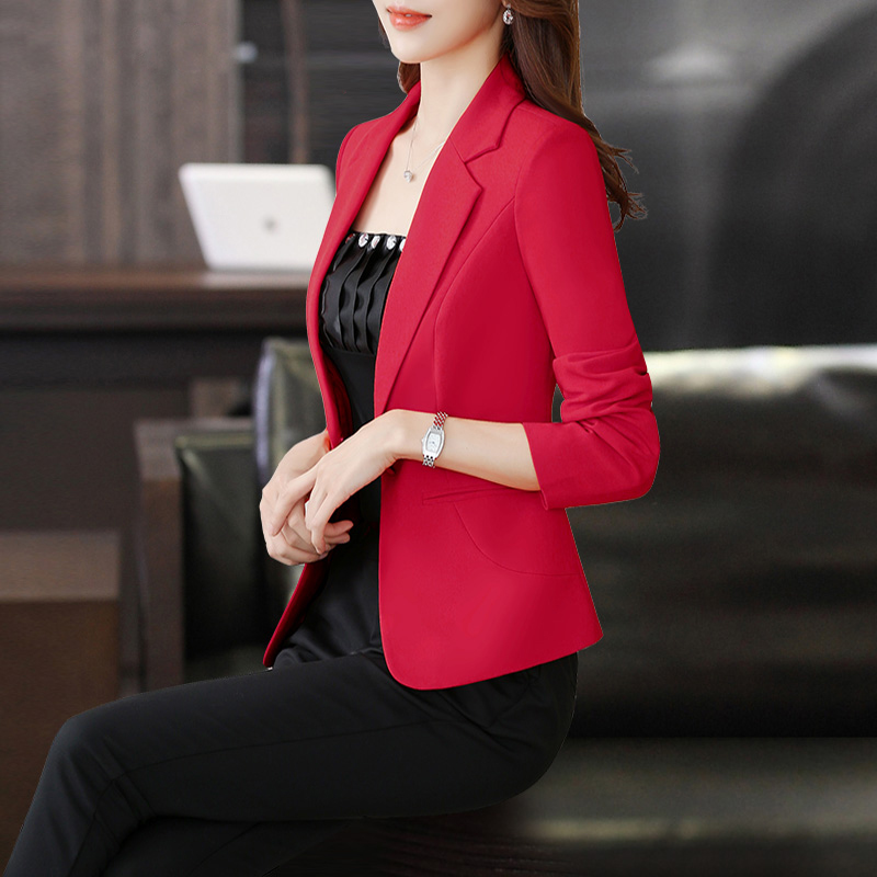 business casual dress jacket white-collar workers uniforms small suits suits career autumn