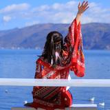 民族风围巾超大防晒披肩夏季薄款外搭丝巾女士百搭海边纱巾沙滩巾