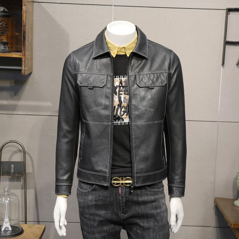 Кожаные куртки Артикул 575487558980