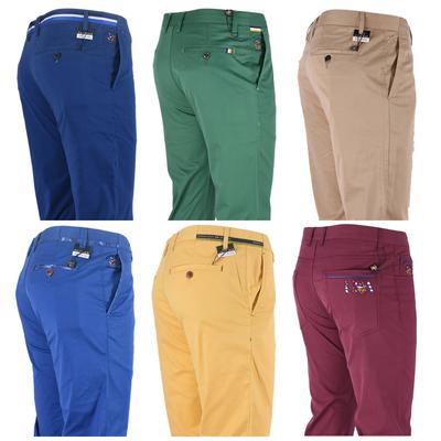 18比华利保罗专柜正品男装 春夏季棉氨薄款直筒商务休闲裤长裤子