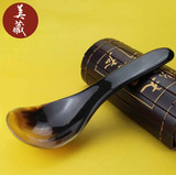 Health and environmental protection large horn spoon natural genuine rice soup spoon spoon spoon spoon tableware home anti-hot