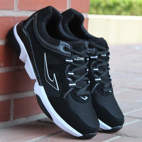 男士运动鞋秋季透气跑步鞋