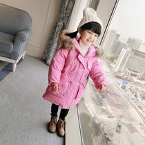 童装女童冬装2017韩版新款羽绒棉服宝宝加厚面包服儿童棉袄外套潮