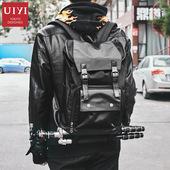 佑一良品uiyi双肩包男单反相机包户外多功能旅行电脑旅游相机背包