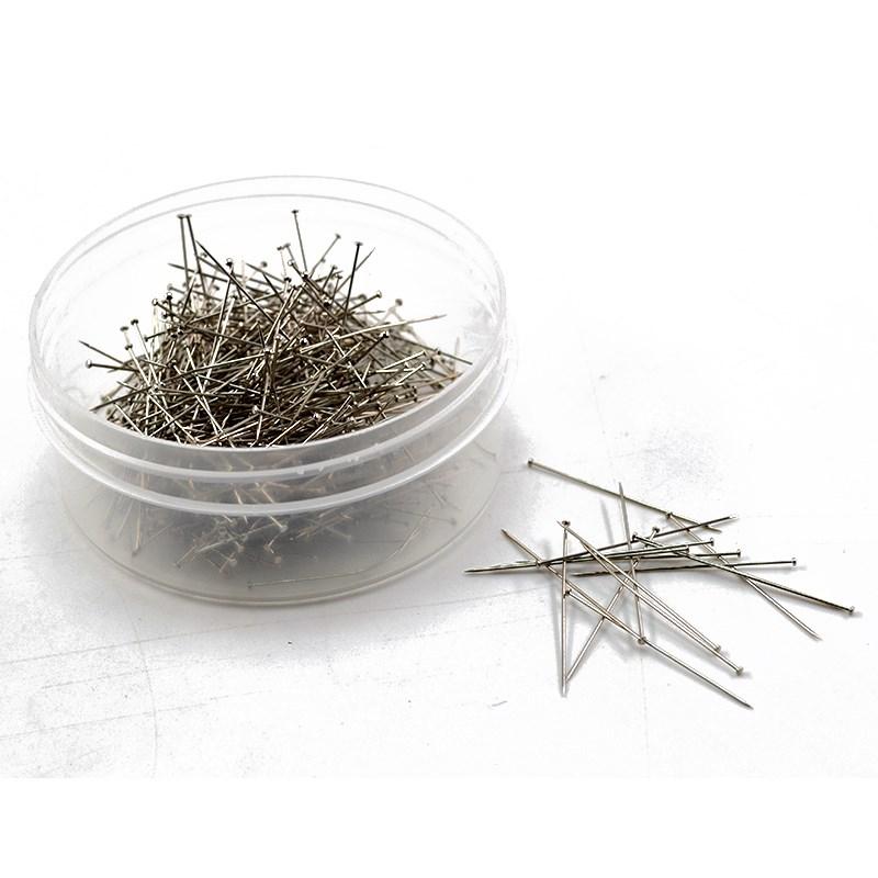 服装立裁专用大头针 打版打样立体裁剪用加长定位针珠针 0.5*35mm