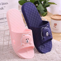 Summer household bathroom sandals and slippers wholesale wear-resistant non-slip plastic soft bottom hotel indoor home specials shoes men