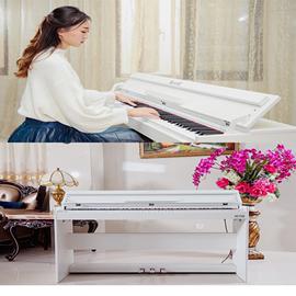 钢琴电钢琴88键重锤力度智能专业成人家用初学者数码儿童电子钢琴图片