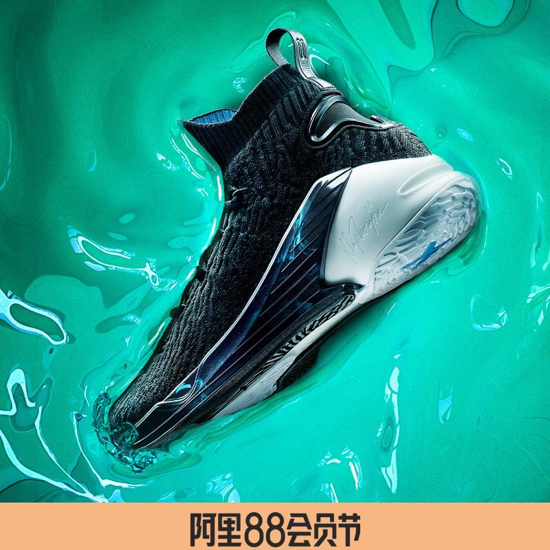 安踏kt4汤普森篮球鞋男鞋2019官网旗舰静水流深高帮球鞋男运动鞋5