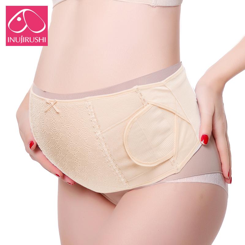 日本犬印托腹带孕妇专用春夏孕妇用品怀孕期产前护腰透气孕晚期