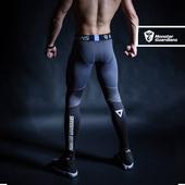 Monster Guardians 终极科技系列男子运动健身训练紧身裤压缩裤