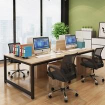 人位办公桌职员卡座办公室员工电脑桌864办公家具屏风隔断组合