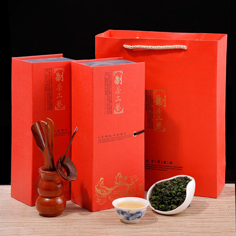 2017春茶 新茶铁观音浓香型 乌龙茶叶 安溪铁观音500g礼盒装