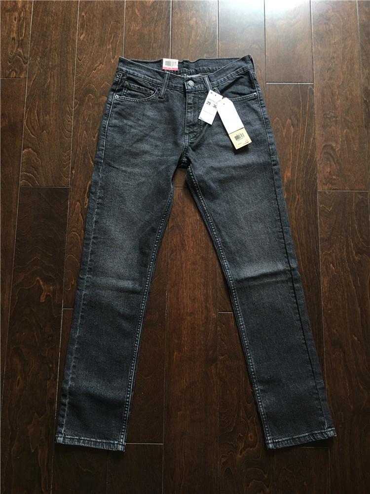 美国专柜正品 Levi's 511-2724 李维斯男士深灰色修身牛仔裤,levi's李维斯牛仔裤