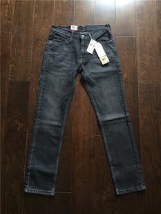 美国专柜正品 Levi's 511-2724 李维斯男士深灰色修身牛仔裤