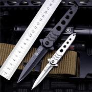 刀具防身刀高硬度德国军刀特种兵短刀锋利开刃便携小刀随身折叠刀
