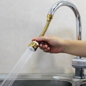 外接起泡器洗菜软管转接厨房水龙头花洒接水管家用冷热自来水防溅