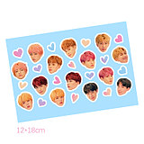 BTS love yourself 'knot' sticker