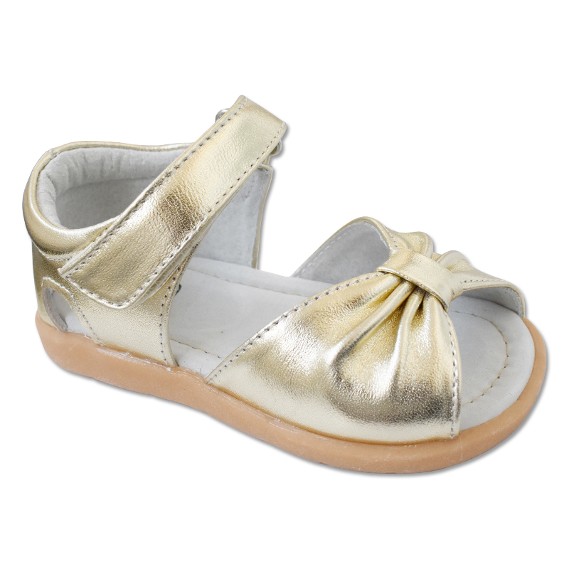 女童凉皮鞋羊皮