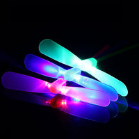 Large luminous bamboo poles 80 nostalgic toys fly to the outdoor flash toy stalls hot supply