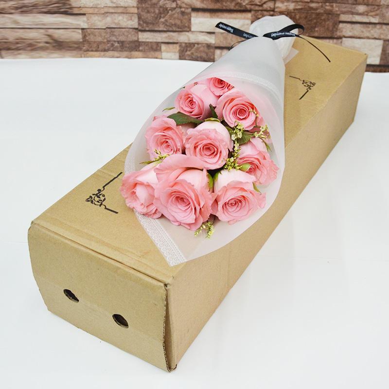 礼盒包鲜花