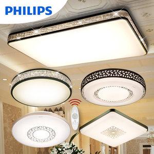 飞利浦LED吸顶灯悦莹水晶照明客厅卧室餐厅现代简约家用套餐灯具