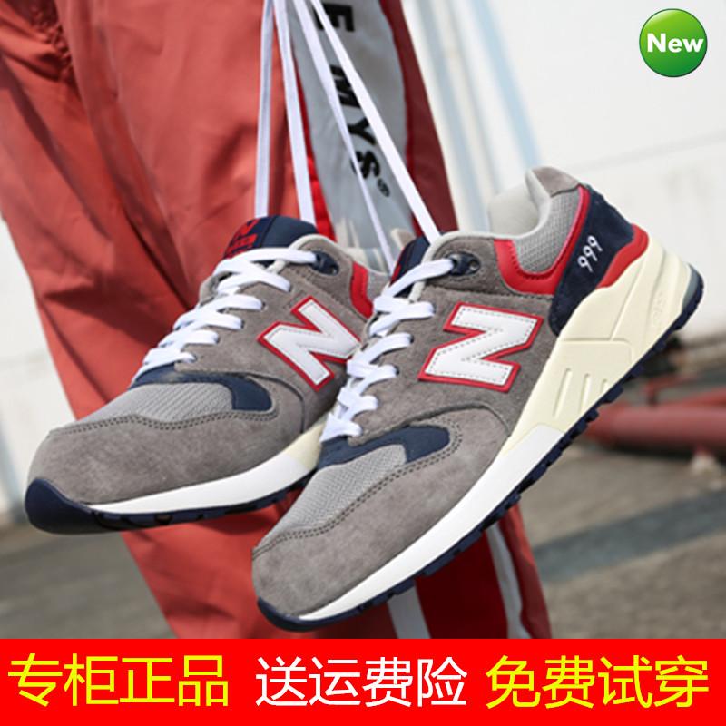 經典款女鞋中新百倫伍茲NB999櫻花系列跑步鞋正品官網574復古男鞋