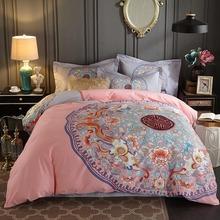2019新品罗兰家纺纯棉匹马棉新中式床单式全棉四件套1.8米双人床