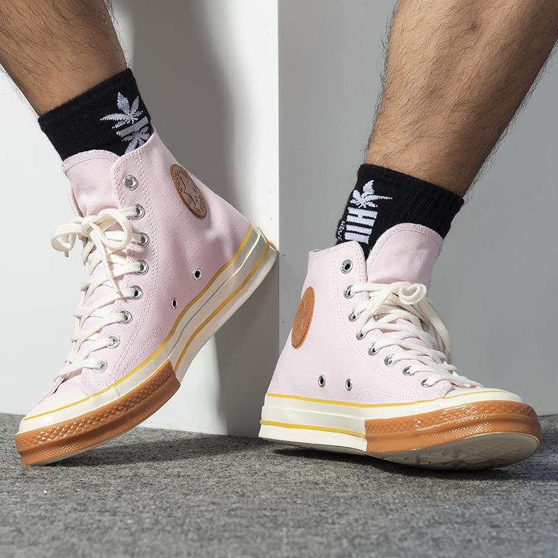 Converse匡威男鞋女鞋 2019新款正品运动休闲鞋高帮帆布鞋 165719