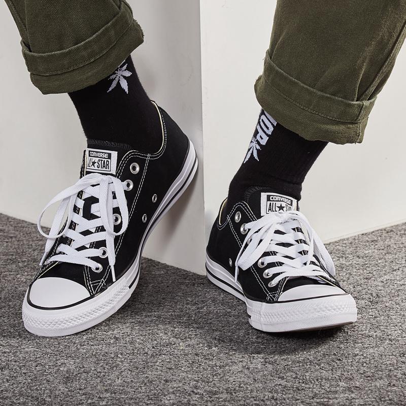 匡威帆布鞋男鞋女鞋低帮常青款正品ALL STAR经典款情侣板鞋101001